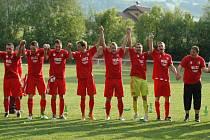 Fotbalisté Podlesí postoupili do 1. A třídy.