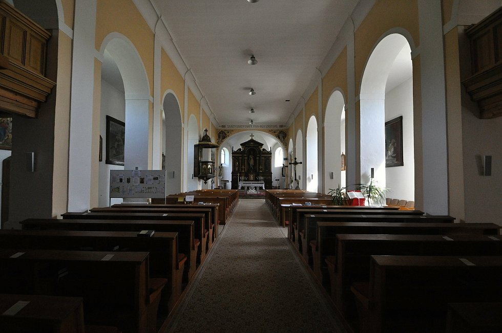 Francova Lhota - kostel svatého Štěpána.
