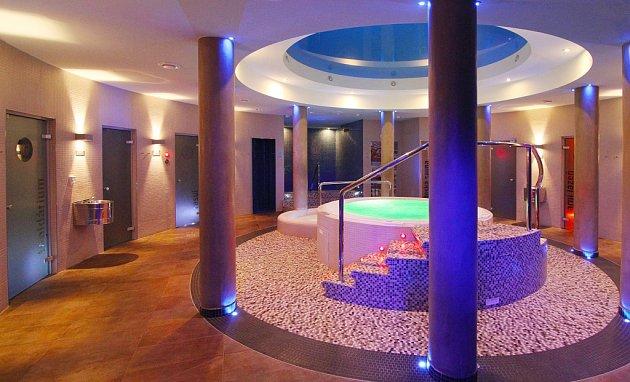 Saunový svět při wellnes hotelu Horal.