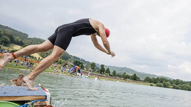 VALACHY MAN 2017: Plavání. Ilustrační foto