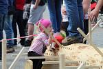 Na soutěž Prlovský drvař se v sobotu 11. května sjelo 32 soutěžících a stovky návštěvníků.