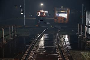 Na železničním přejezdu v Huslenkách se v úterý 12. listopadu 2019 srazil projíždějící osobní vlak s osobním autem. Ve vlaku cestovalo dvanáct lidí. Nikdo z účastníků střetu se nezranil.