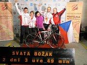 Svatopluk Božák počtvrté v kariéře zdolal závod kolem Slovinska.