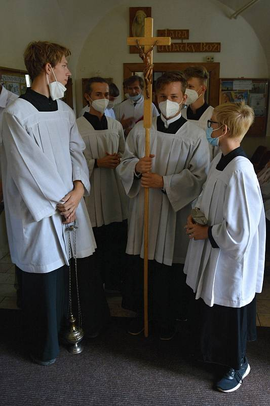 Kardinál Dominik Duka zavítal 15. srpna 2021 poprvé do Vsetína. V kostele Nanebevzetí Panny Marie posvětil dva ze čtyř nových zvonů.