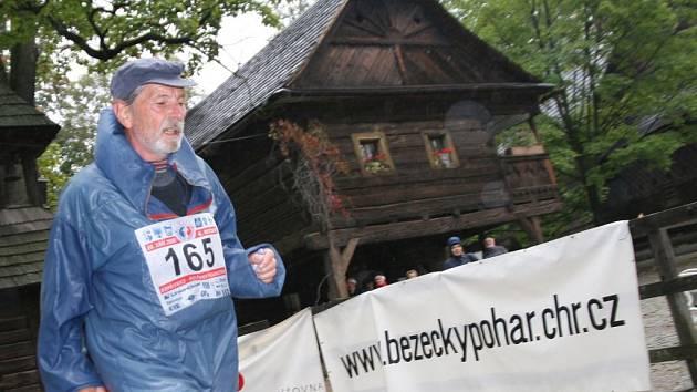 Běh Emila Zátopka v Rožnově
