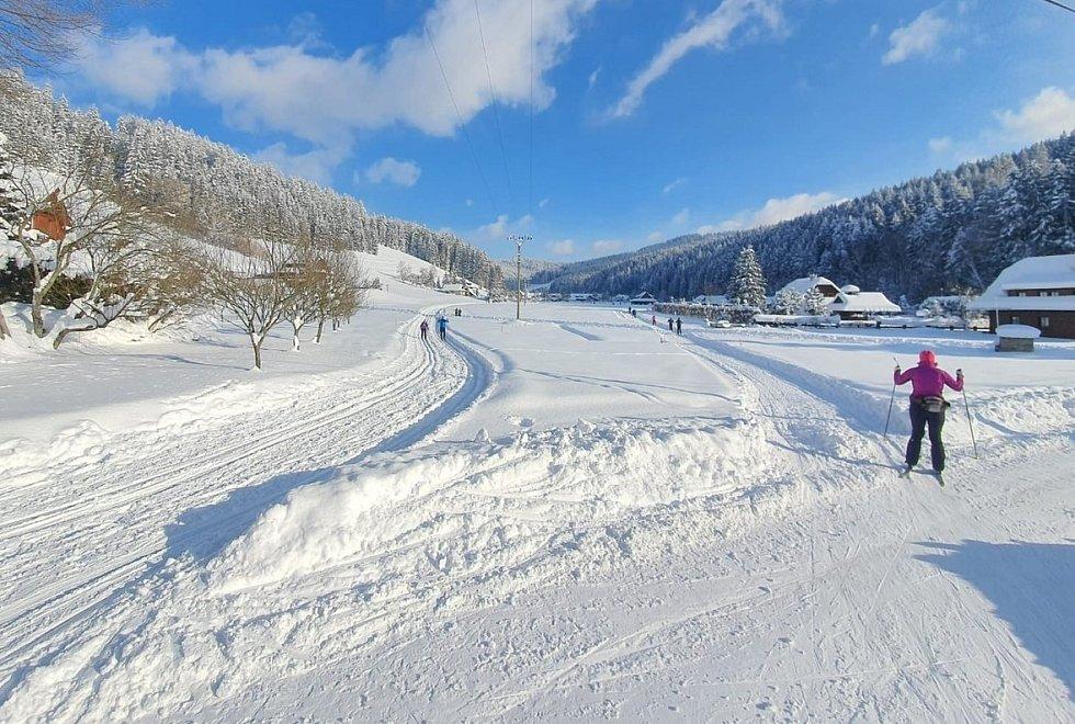 Běžkařské trasy Velké Karlovice