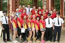 NEJLEPŠÍ. Hasiči a hasičky z Tylovic ukázali v sobotu svou kvalitu. V Rožnově nenalezli přemožitele.