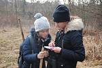 Meziříčští dobrovolníci sčítali v sobotu 11. ledna 2020 s dalekohledy a zápisníky zimní ptáky na řece Bečvě