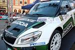 Bonver Valašská rally 2012: posádka Jan Kopecký – Pavel Dresler s vozem Škoda Fabia S2000.