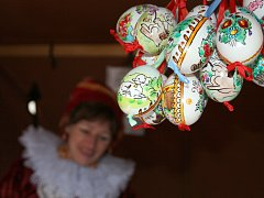 Velikonoční program v dřevěném městečku rožnovského skanzenu. Ilustrační foto