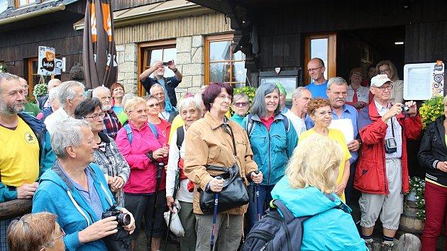 90. výročí otevření turistické chaty Vsacký Cáb