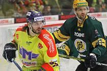 Vsetínští hokejisté v posledním zápase letošního roku podlehli lídrovi z Českých Budějovic 2:5 a v tabulce Chance ligy klesli za Přerov na čtvrté místo