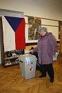 Vsetíňané volí prezidenta také v Masarykově gymnáziu.