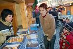 Ve Vsetíně začal v úterý vánoční jarmark nazvaný Veselé vánoční hody
