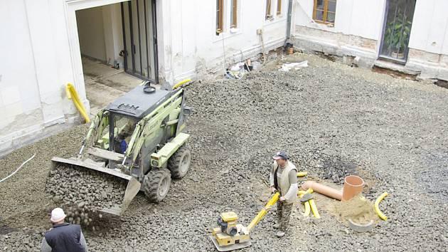 Rekonstrukce vsetínského zámku