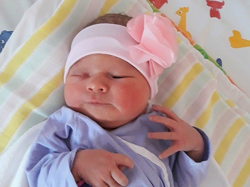 Mariana Vahalová, Palačov, narozena 23. června ve Valašském Meziříčí, míra 49 cm, váha 3190 g