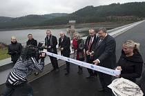 Opravy vodního díla, které zásobuje vodou osmdesát tisíc lidí, jsou u konce. Přišly na 94,5 milionu korun.