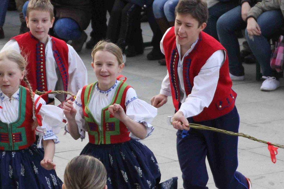 Velikonoce na Valašsku - archivní snímek autora.