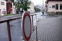 Bruslení na Smetanově ulici ve Vsetíně bylo v sobotu zrušeno kvůli nepřízni počasí