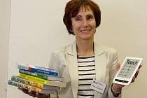 Ředitelka Masarykovy veřejné knihovny ve Vsetíně Helena Gajdušková.