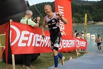 Petr Vabroušek – Valachy Man 2015, závod v triatlonu, v pátek odpoledne a večer ovládl Nový Hrozenkov a okolí.