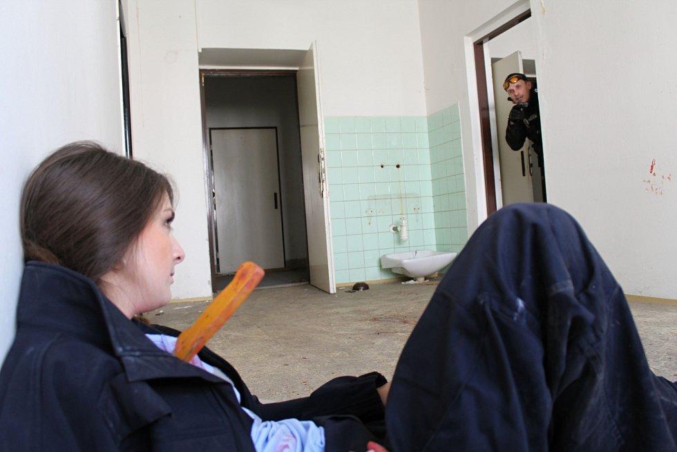 Do budovy bývalého okresního úřadu ve Vsetíně se v úterý 9. května 2017 sjeli strážníci městských policií z Olomouce, Přerova, Rožnova pod Radhoštěm a Valašského Meziříčí. Nechyběli ani policisté a strážníci ze Vsetína.