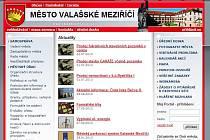 Web města Valašské Meziříčí. Ilustrační foto.
