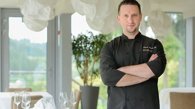 Šéfkuchař Pavel Václavík.