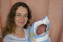 Marta Vybíralová, Valašské Meziříčí, syn Josef Vybíral, 52 cm, 3700 g, narozen 25. 5. 2010