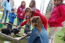 V Panské zahradě ve Vsetíně se ve středu 21. dubna konal Den Země.