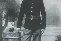 Josef Sousedík během vojenské služby za první světové války.
