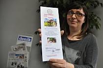 Andrea Ohryzková vyhrála v soutěži s Deníkem poukaz do syrovátkových lázní.