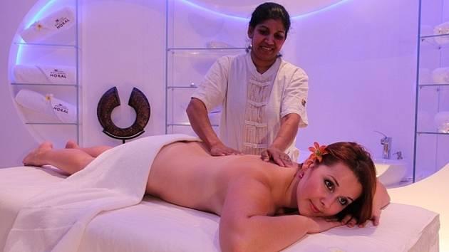 Ayurvedská masáž.