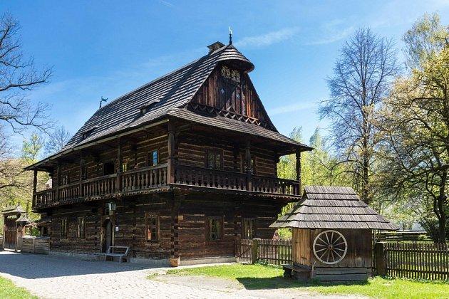 Dřevěné městečko. Ilustrační