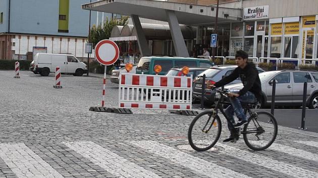 Vsetínská Žerotínova ulice bude uzavřená až do poloviny prosince.