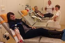 Gymnazisté z Klobouk darovali krev