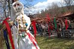 Ve skanzenu v Rožnově pod Radhoštěm rozložili oslavy Velikonoc do tří dnů