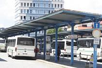 Autobusové nádraží ve Vsetíně. Ilustrační foto.