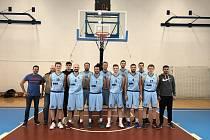 druholigoví basketbalisté Valašského Meziříčí 2019-2020