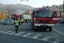 Nebezpečná křižovatka ve Vsetíně. Ilustrační foto.