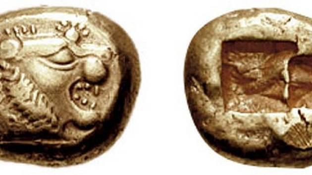 Ražba z Lýdie, která patří mezi nejstarší mince na světě