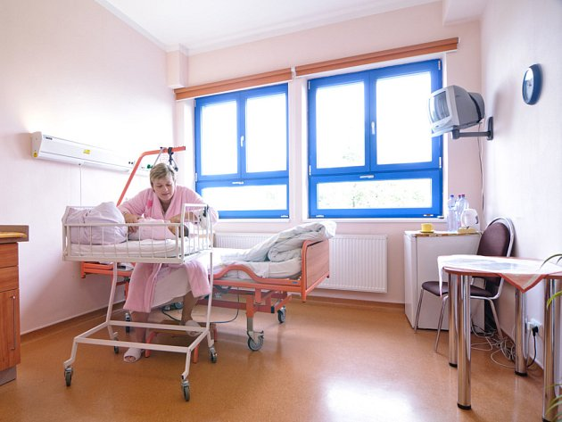 Maminky dostaly v meziříčské porodnici nnadstandardní pokoje.