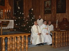 Vánoční mše ve Skanzenu přilákala místní i turisty