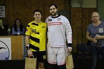 1. florbalová liga mužů Rožnov pod Radhoštěm - Kladno