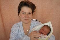 Andrea Gregorová, Kopřivnice, dcera Marie Kindrová, 50cm, 3500g, 2.3.2010