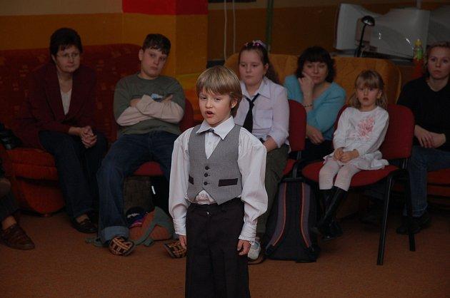 Okrskové kolo recitační soutěže žáků ZŠ - Vsetínsko, středisko volného času Alcedo