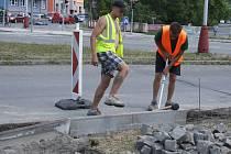 Rozsáhlá oprava nejrušnější křižovatky ve Vsetíně U Růžičků začíná.