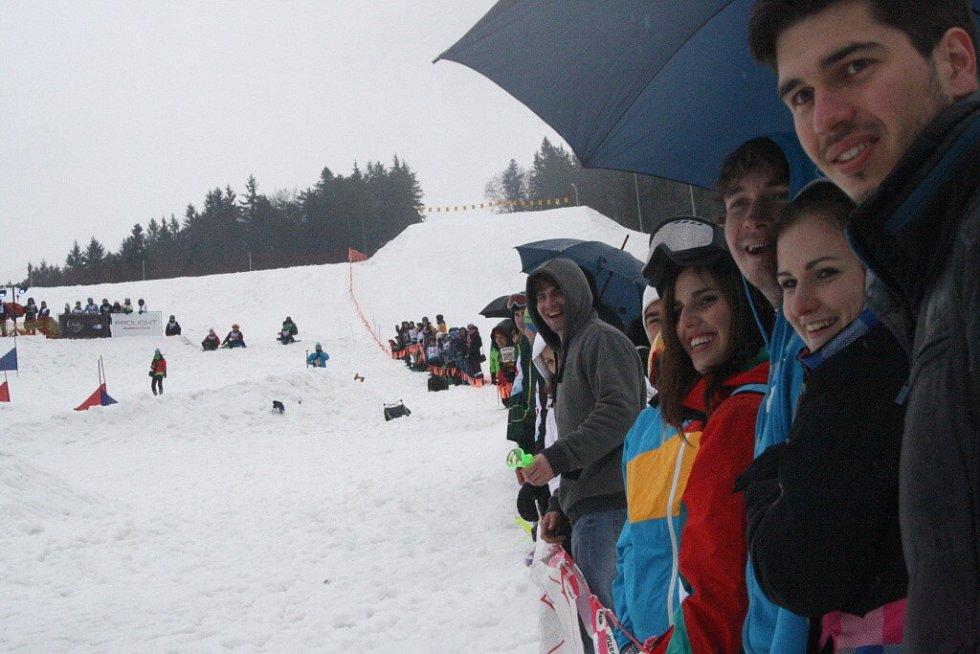 Bobcross ve Skiareálu Karolinka