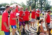 V sobotu 28. července 2018 se uskutečnil 9. ročník kelečského poháru dračích lodí na tybníku Chmelník. O titul bojovalo na dvou set metrové trati devět posádek. Mezi nimi obhajoval loňské prvenství tým SDH Kelč, který skončil nakonec třetí.