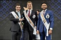 Muž roku 2019 - Vítězem se stal šestadvacetiletý podnikatel Vojta Urban (uprostřed) ze Vsetína.